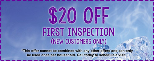 $20 Off First Inspection